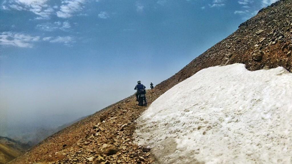دومین صعود به قله توچال با موتور : تابستان ۱۳۹۳
