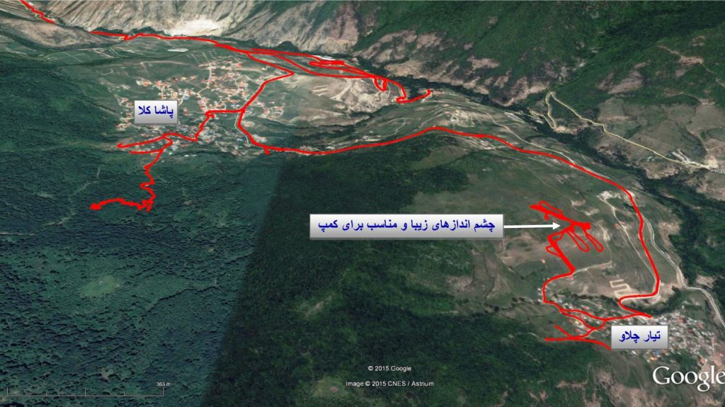 ۱۶۳ Pashakola offroad - Autumn 1393 2014 GPS03 Track