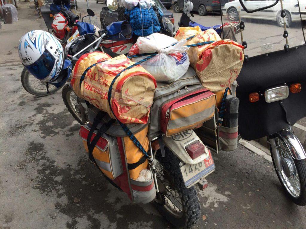 سفر به ترکیه با موتورسیکلت