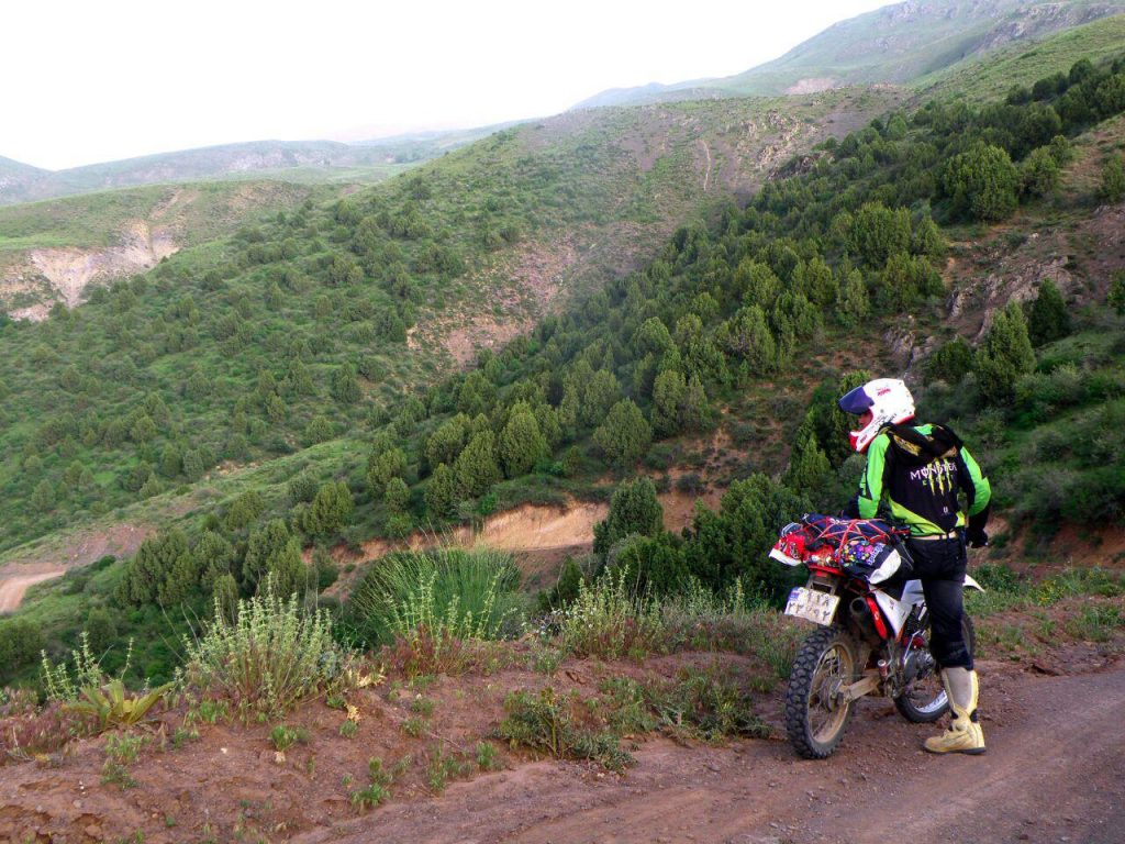 بیاد خاطرات سفرهای آفرود گذشته با موتور