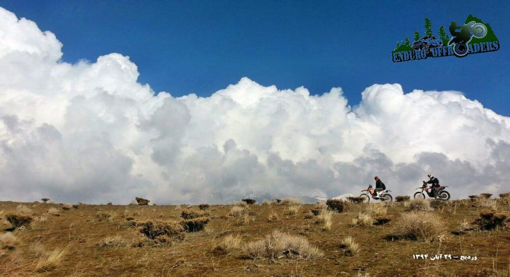 آفرود با موتور در منطقه وردیج – ۲۹ آبان ۱۳۹۴