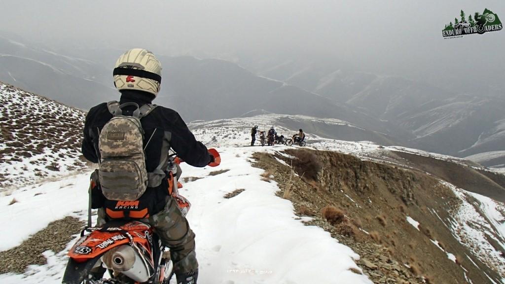 آفرود برفی لذتبخش در منطقه وردیج – ۲۰ آذر ۱۳۹۴
