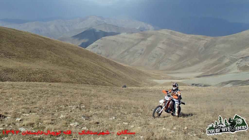 اولین صعود به قله توچال با موتور – تابستان ۱۳۹۲