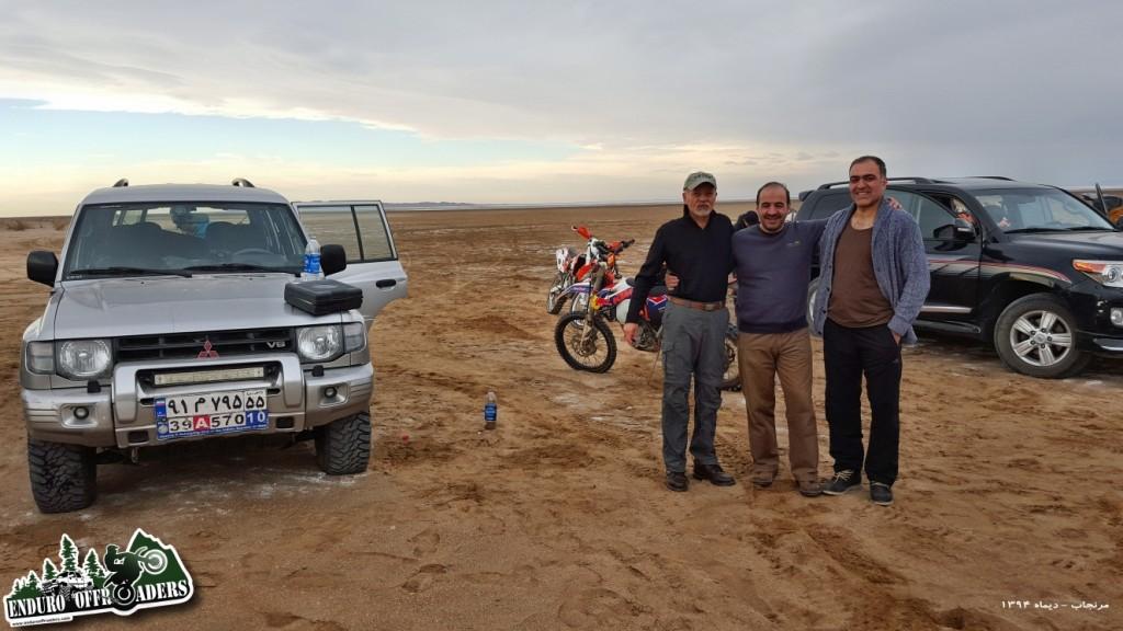 آفرود با موتور در منطقه مرنجاب – ۱۸ دیماه ۱۳۹۴