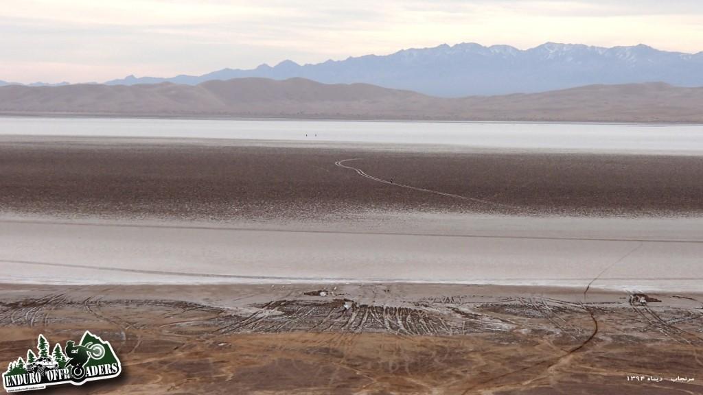 فیلم آفرود با موتور در مرنجاب