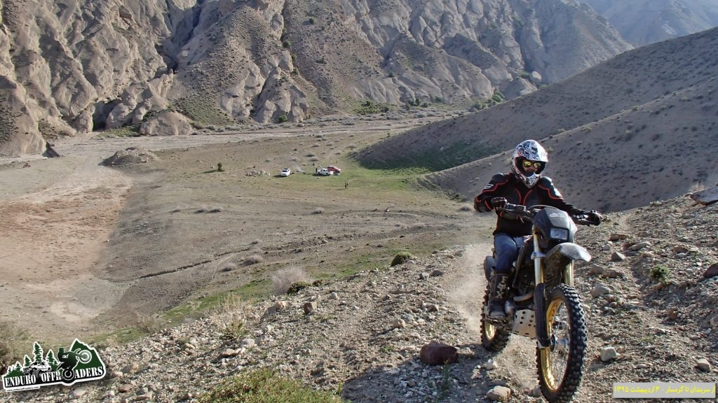 آفرود با موتور در منطقه سربندان تا گرمسار – ۲ و ۳ اردیبهشت ۱۳۹۵