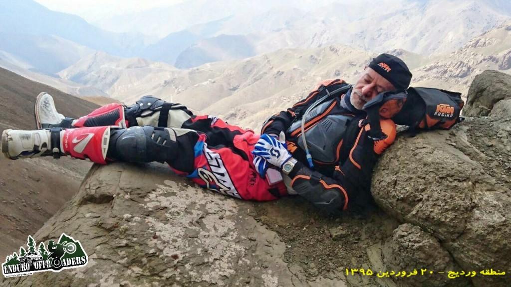موتورسواری در هوای لذت بخش بهاری در منطقه وردیج – ۱۳۹۵