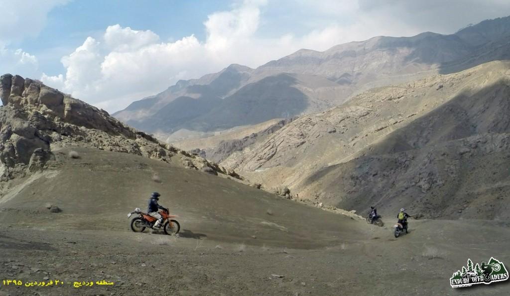 موتورسواری در هوای لذت بخش بهاری در منطقه وردیج