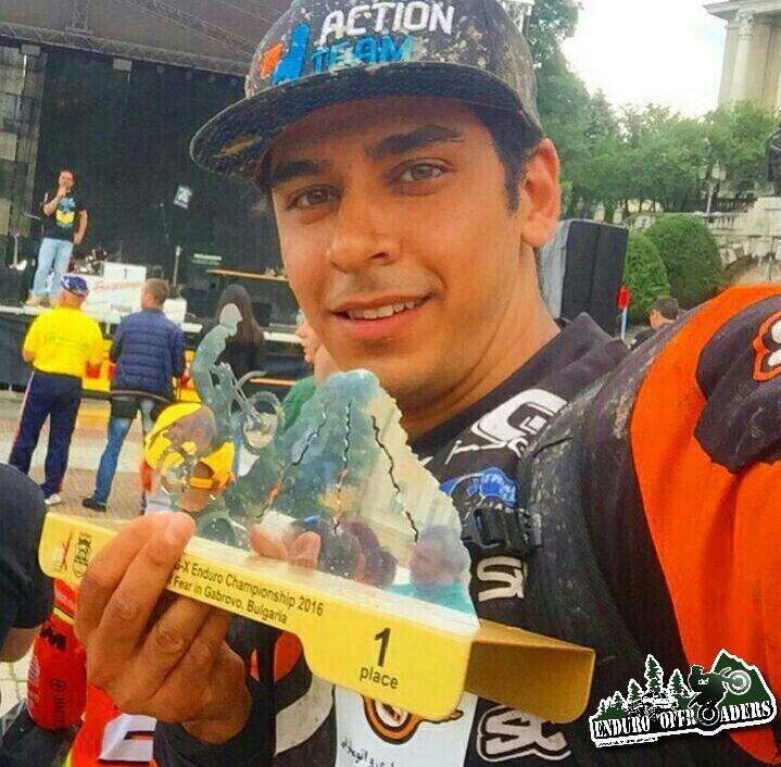کسب مقام قهرمانی مسابقات اندورو بلغارستان توسط آقای داریوش قربانی