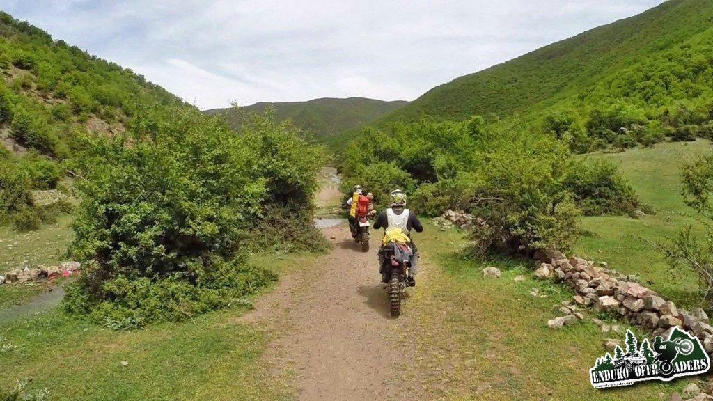 آفرود با موتور در منطقه یوش به نیتل و جنگل ارواح – بهار ۱۳۹۵