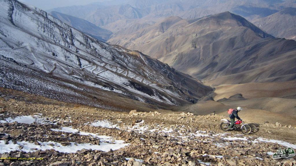 صعود به قله توچال با موتور – ۷ آبان ۱۳۹۵