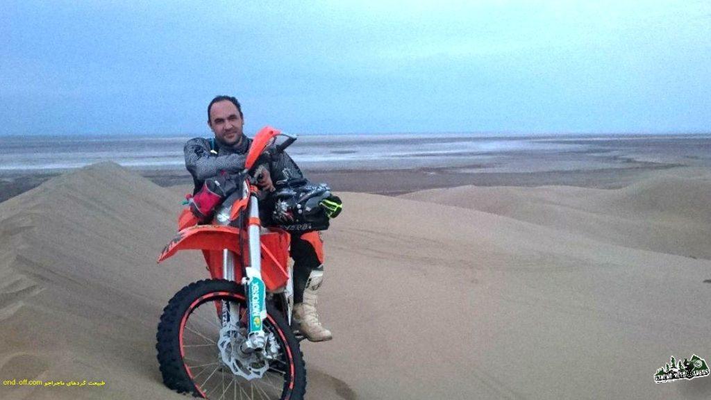 موتور سواری در مرنجاب