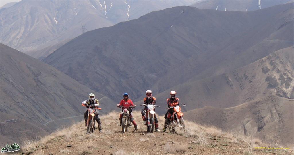 آفرودی لذت بخش با موتور در منطقه سنگان – بهار ۱۳۹۶