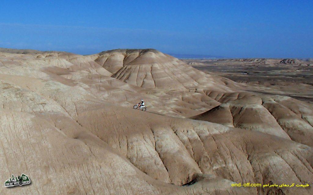 آفرود با موتور و ماشین در منطقه عزیز آباد تا پرند – زمستان ۱۳۹۳