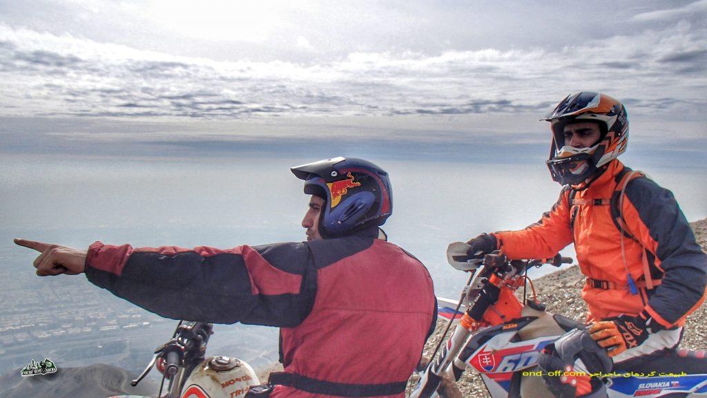 ارتفاعات پارک لتمال کن، شمال غربی تهران – زمستان ۱۳۹۷