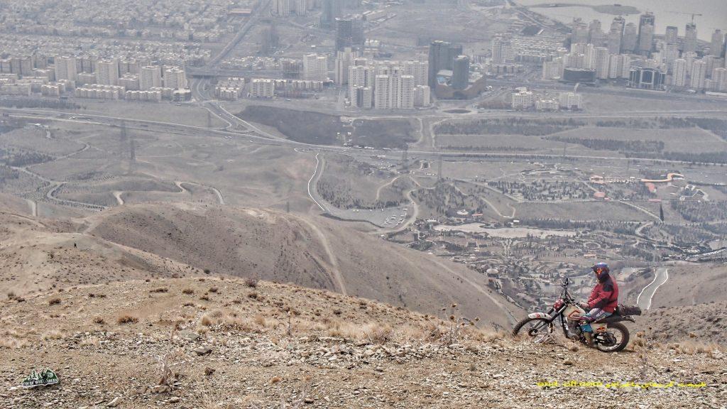 ارتفاعات پارک لتمال کن - شمال غربی تهران