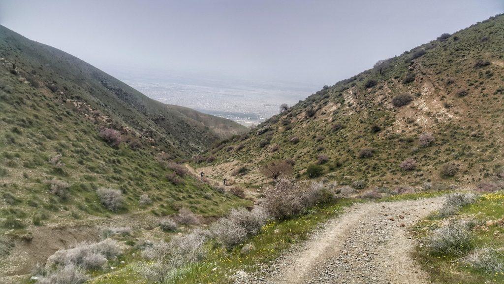 ارتفاعات وردیج، شمال غربی تهران