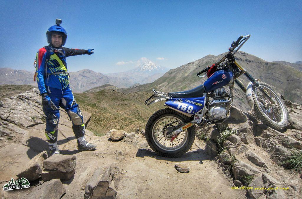 آفرود با موتور از دشت هویج به قله پرسون – تابستان ۱۳۹۸