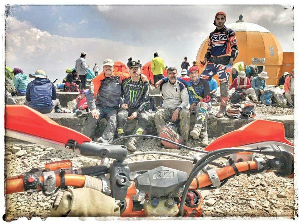 صعود به قله توچال با موتور - تابستان 1398