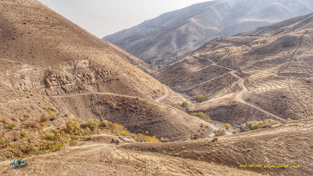 آفرود با موتور در منطقه وردیج و واریش - آبان 1398