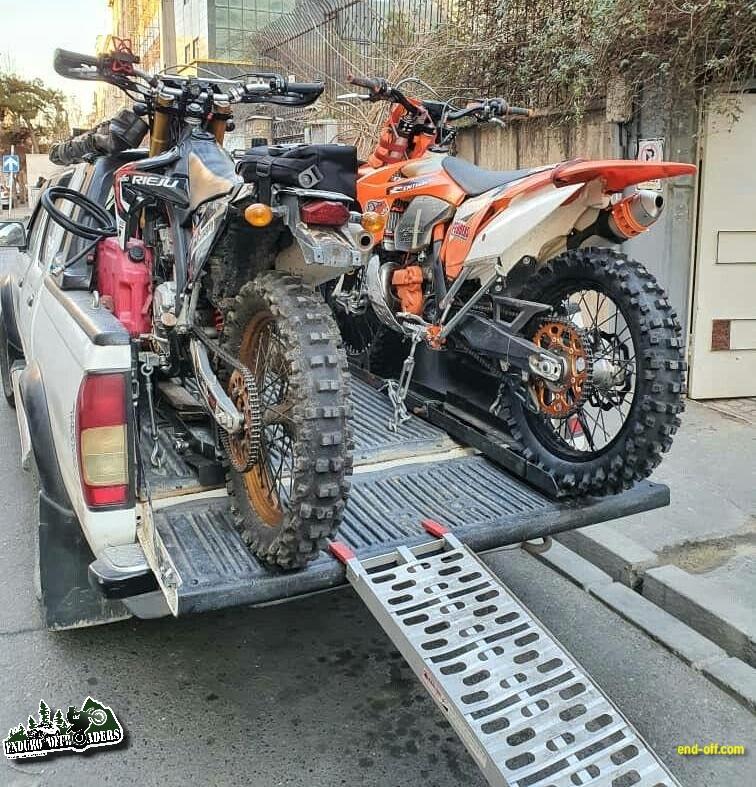 پیش بسوی آفرود مهیج با موتور در نصرت آباد کرج - زمستان 1398 2020