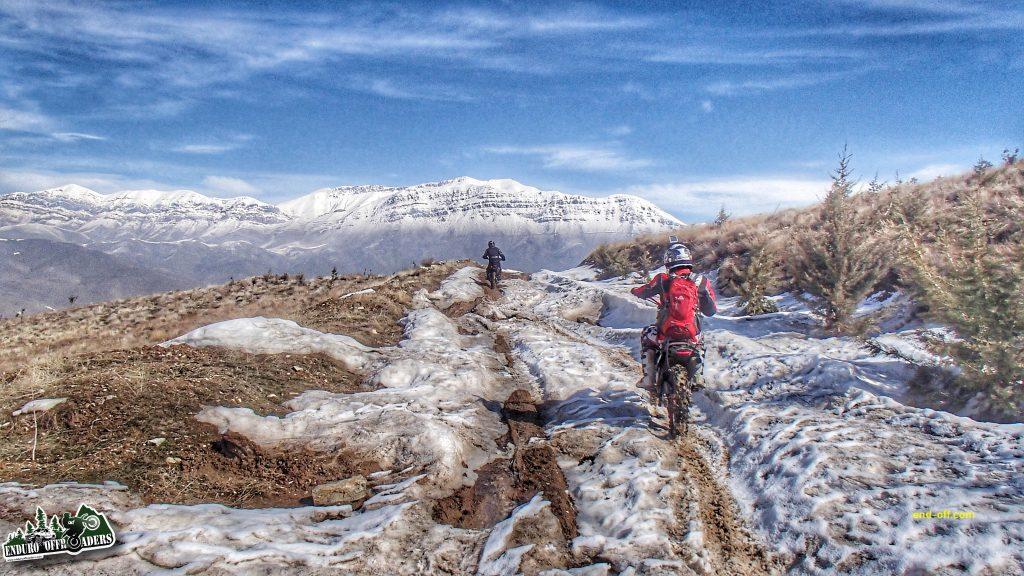 آفرود برفی در ارتفاعات وردیج - زمستان 1398 2020