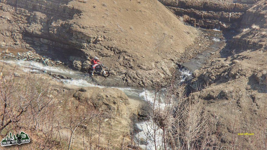 آفرود در ارتفاعات وردیج - زمستان 1398 2020
