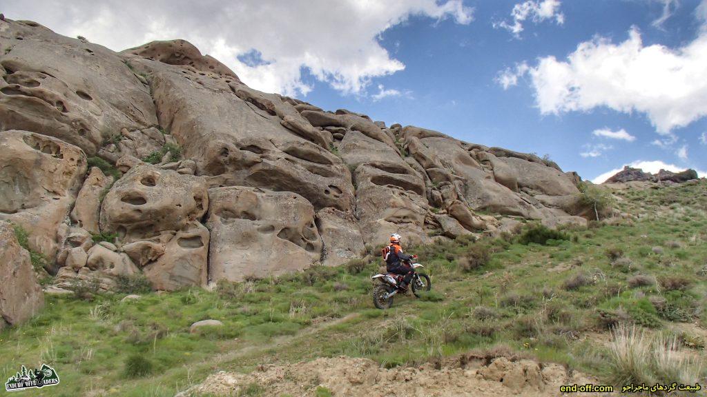 ماجراجویی در ارتفاعات منطقه وردیج، شمال غربی تهران – اردیبهشت ۱۳۹۹