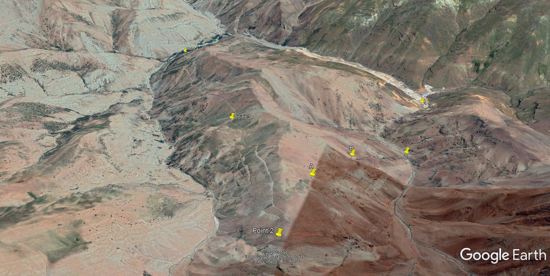 تصاویر هوایی انتهای مسیر سنگان به شهرستانک - تابستان 1399 2020