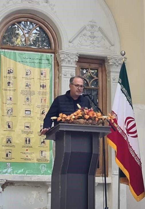سخنرانی ارسلان پالیزبان در موزه برادران امیدوار - ششم مهرماه 1399