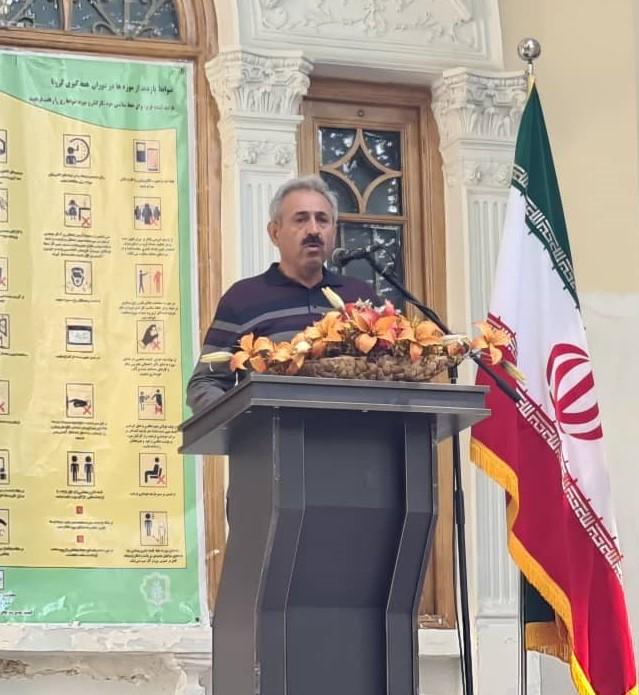 سخنرانی بهمن ایزدی در موزه برادران امیدوار - ششم مهرماه 1399