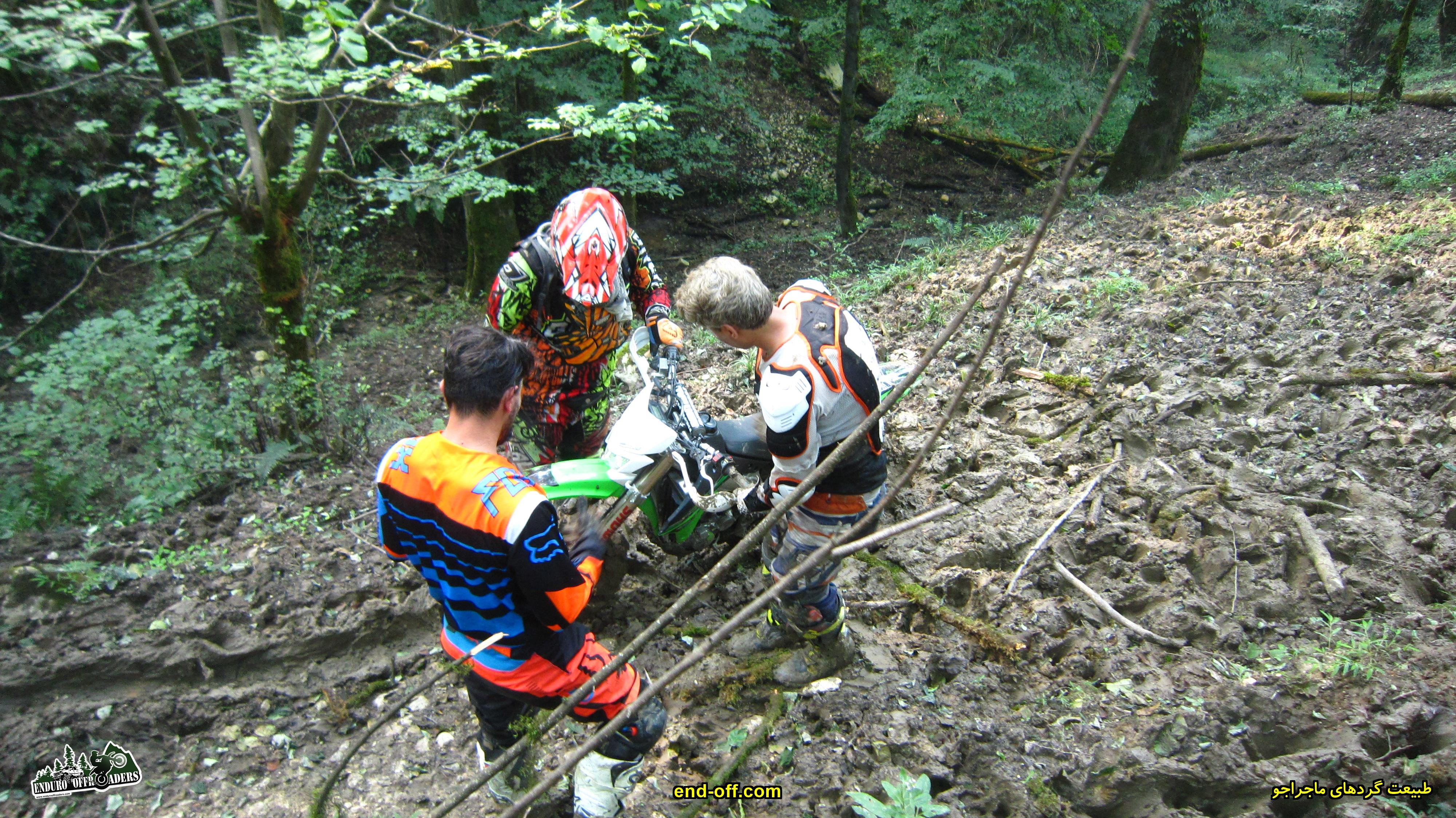 عبور از جنگل با موتور - گت کلا تا دیوا و جنگل شاه زید - تابستان 1399 - 2020