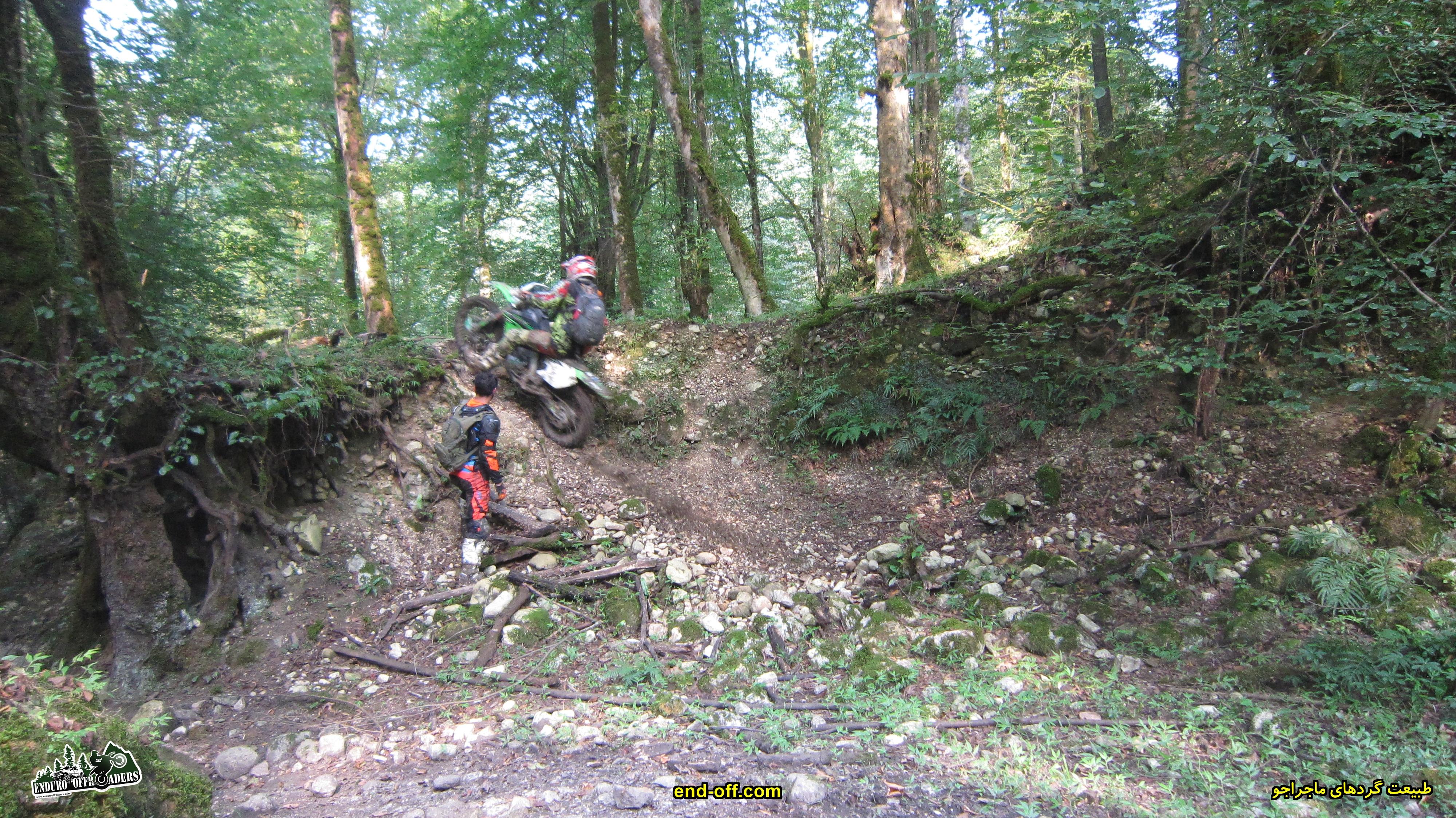 موتورسواری لذت بخش در منطقه گت کلا تا دیوا و جنگل شاه زید - تابستان 1399 - 2020