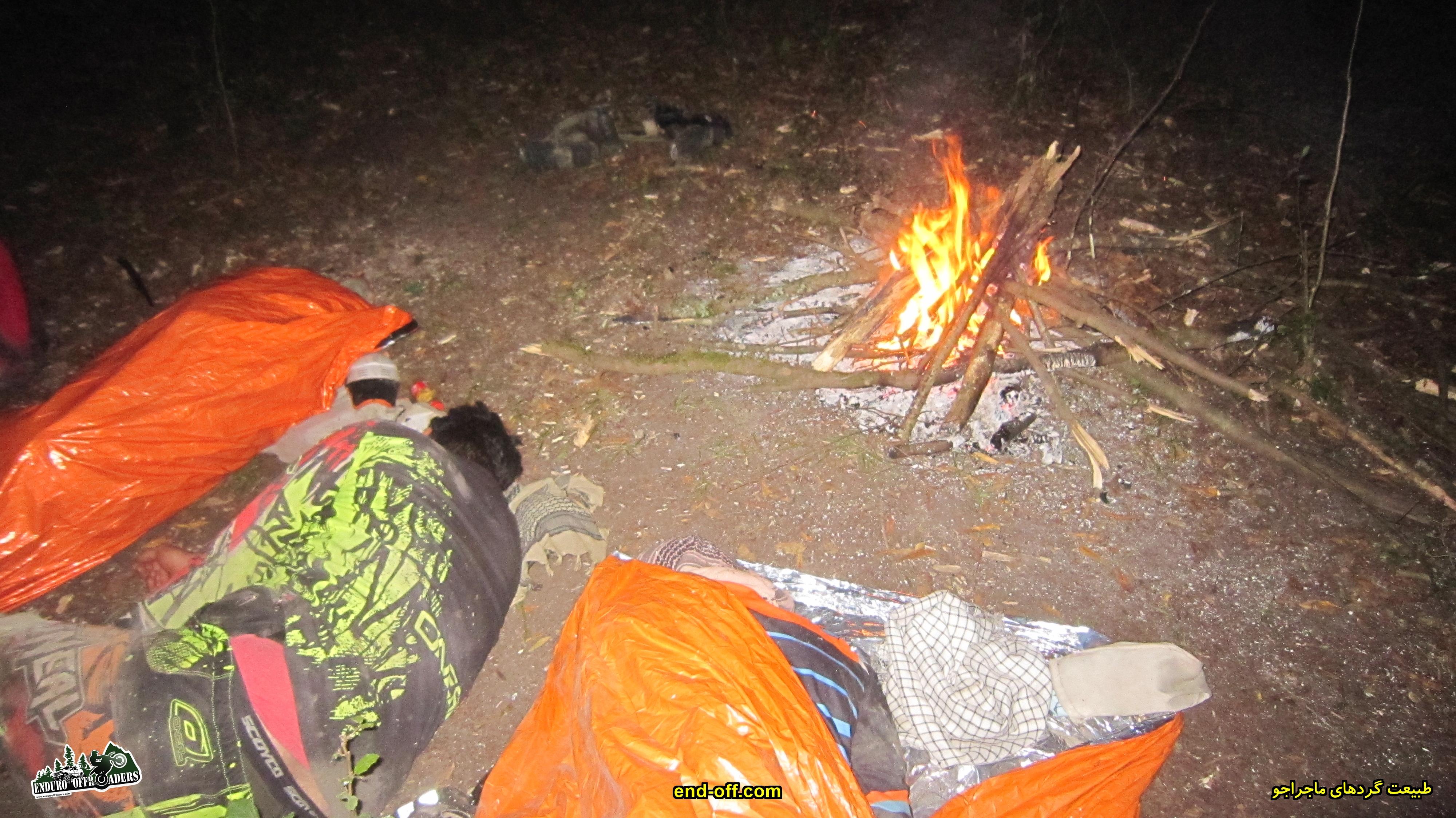 خوابیدن در جنگل - گت کلا به دیوا - تابستان 1399 - 2020