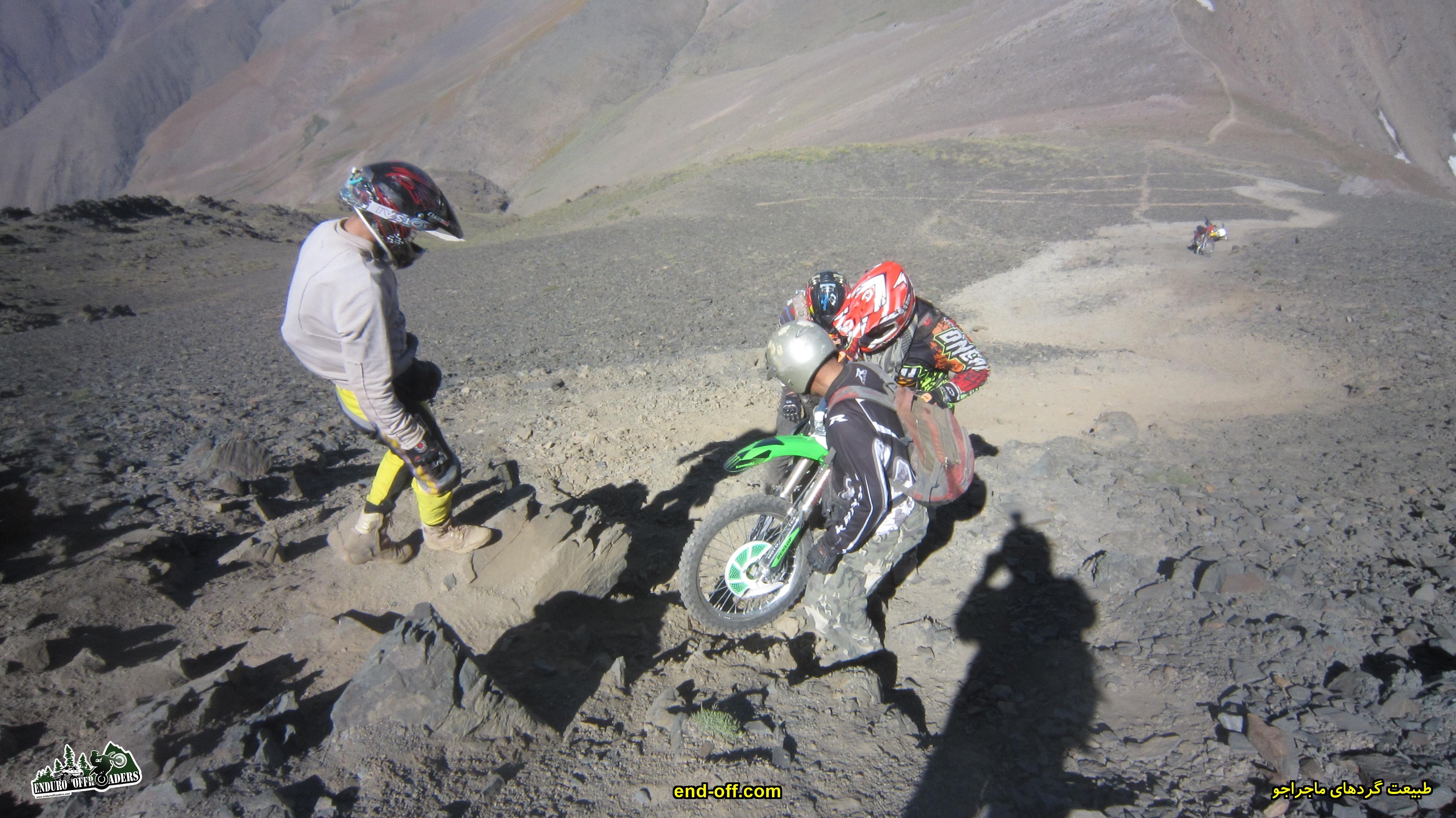 فرزاد قنبری - صعود به قله سیالان با موتور برای اولین بار در ایران - تابستان 1399