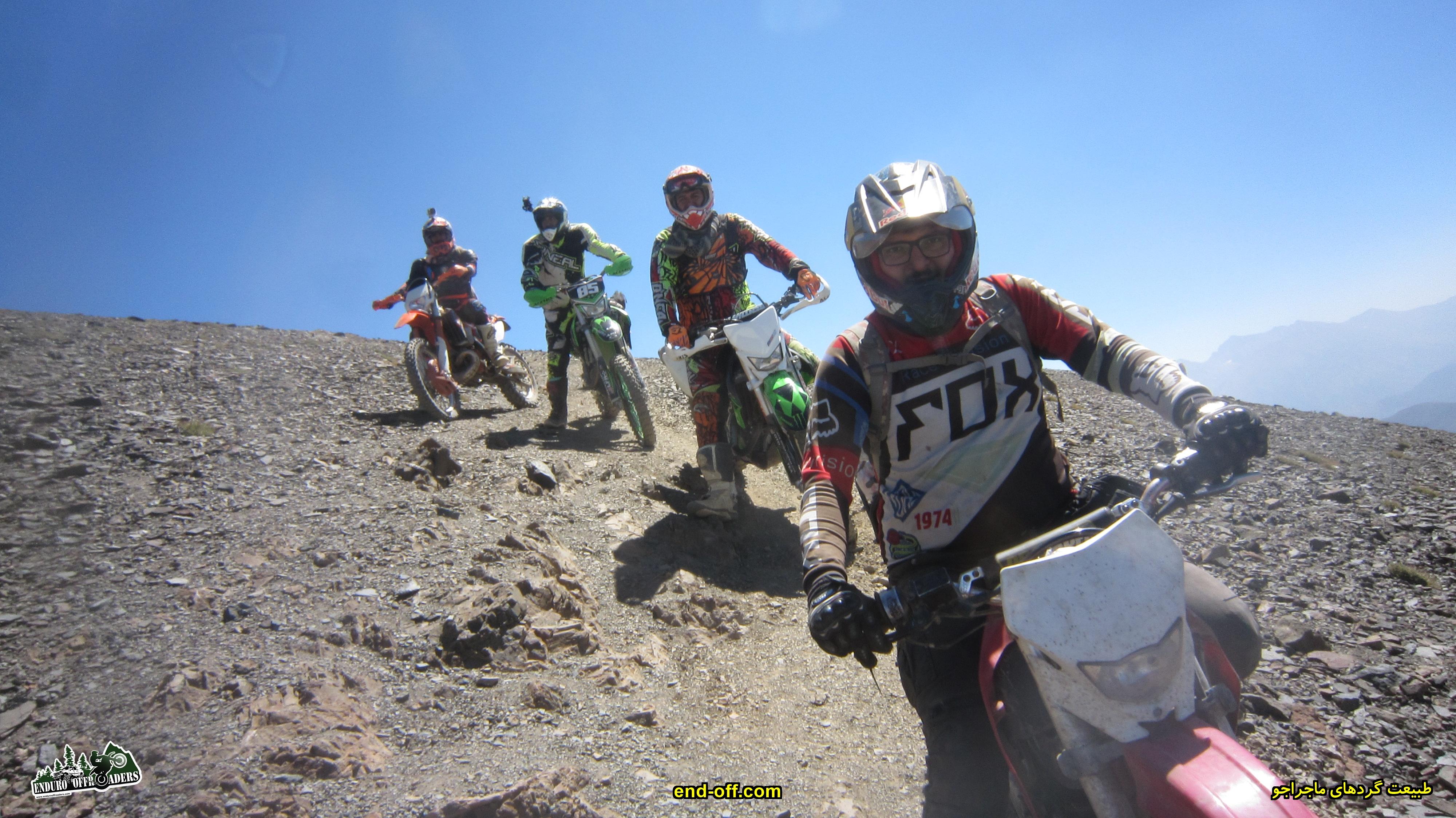 صعود به قله سیالان با موتور برای اولین بار در ایران - تابستان 1399