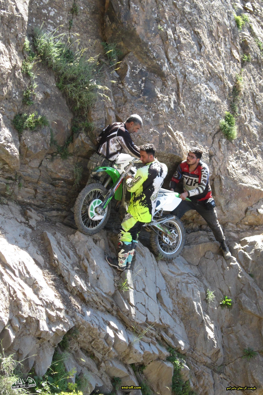 صعود به قله سیالان با موتور - تابستان 1399 - 2020