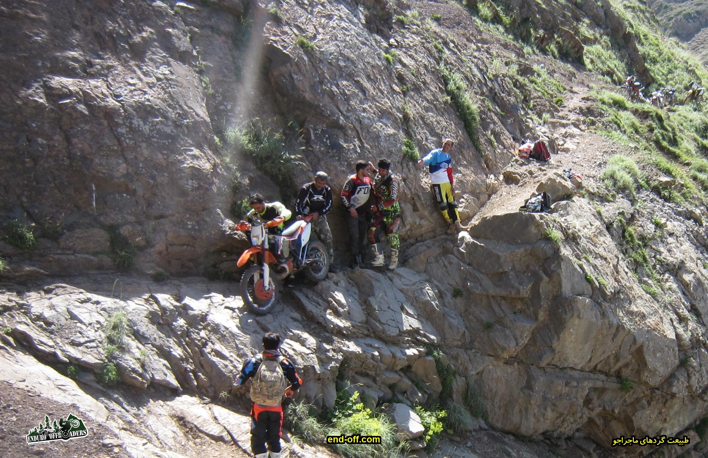 صعود به قله سیالان سخت ترین آفرود با موتور - تابستان 1399