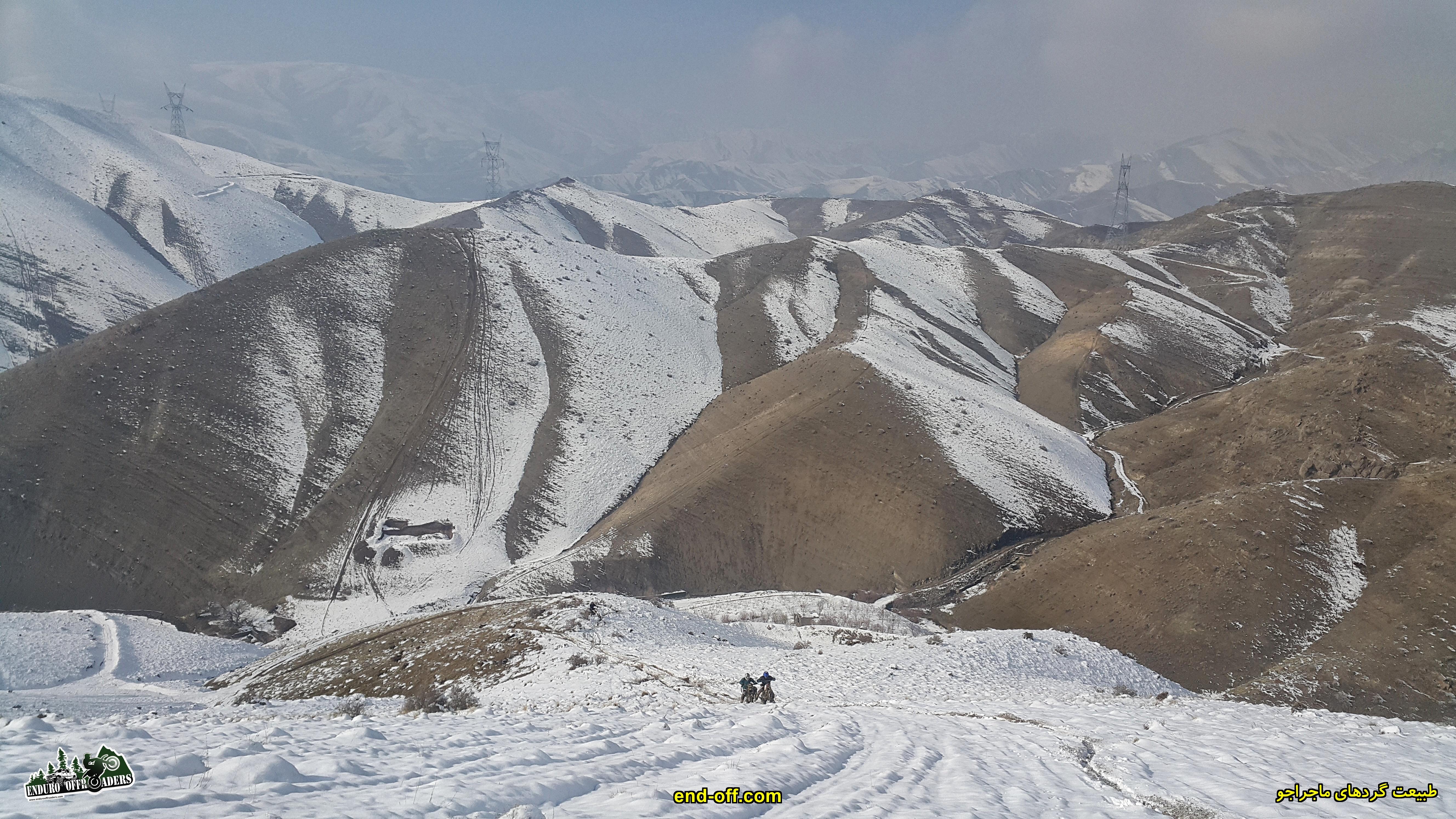 ماجراجویی با موتور در برف - زمستان 1399 2020
