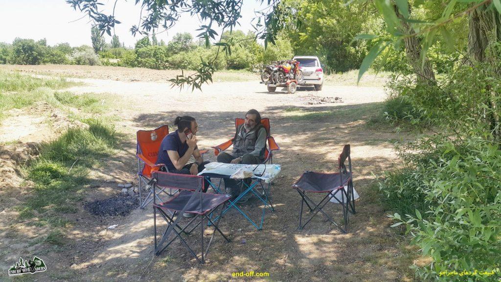 آربی امیریان و کارو در مسیر روستای چناقچی - بهار 1400 - 2021