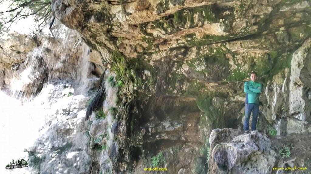 جعفر صفری در آبشار چناقچی - بهار 1400 - 2021