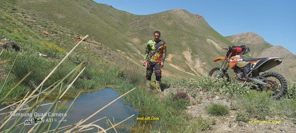 جعفر صفری در کوههای روستای چناقچی - بهار 1400 - 2021
