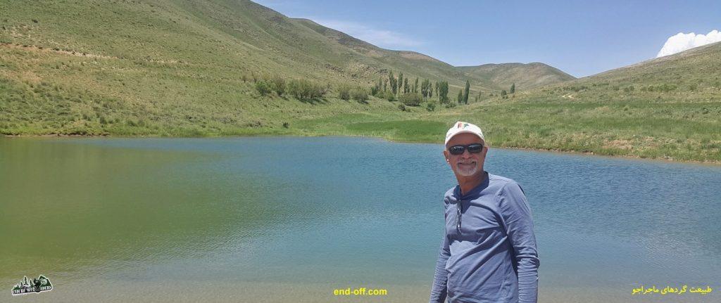 سروش مطهر در کوههای روستای چناقچی - بهار 1400 - 2021
