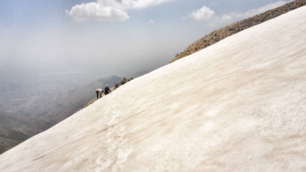حامد آقایی - مهدی دربندی - حسن فیوضی - مسیر امامزاده داوود تا قله توچال - بهار 1400 -2021