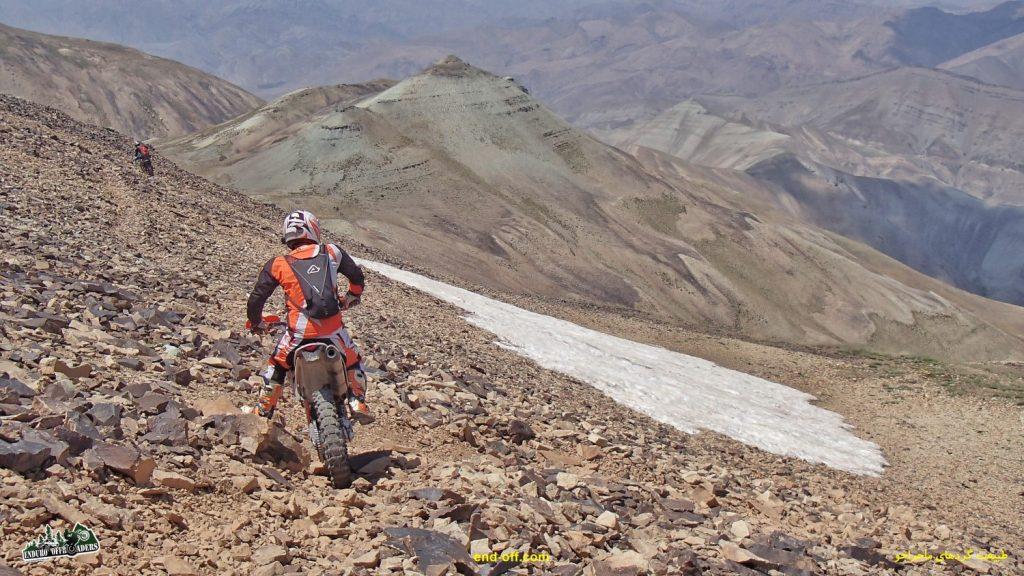 برف تابستان در اطراف قله توچال - تابستان 1400 - 2021
