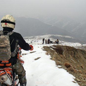 آفرود برفی لذت بخش در منطقه وردیج - شمال غربی تهران