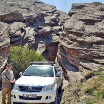 مسیر سربندان به گرمسار - بهار 1395 - 2016