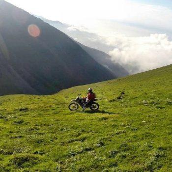 مسیر قزوین به سماموس - خرداد 1395 - 2016