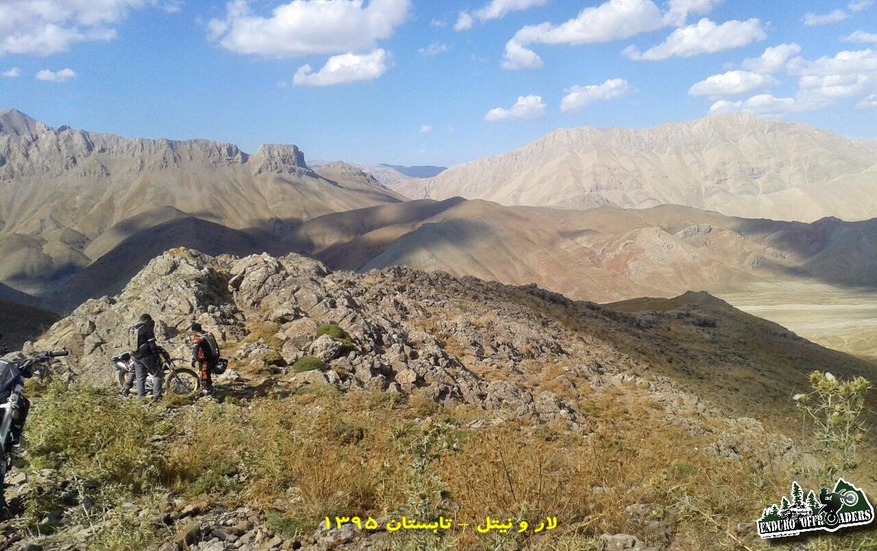 آفرود در مناطق لار و دشت هویج – تابستان ۱۳۹۵