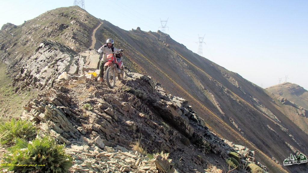 صعود به قله منار با موتور برای اولین بار در ایران – بخش اول